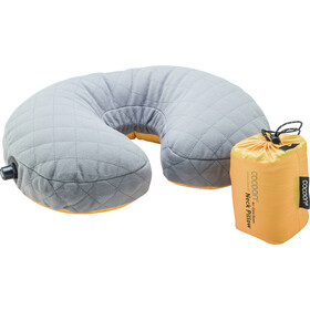 Cocoon Air Core Down Coussin repose-tête, sunflower/grey